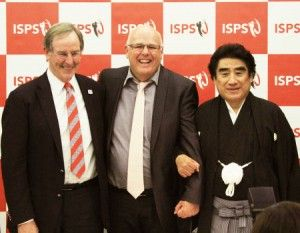 ISPSハンダ・ニュージーランド・オープン調印式